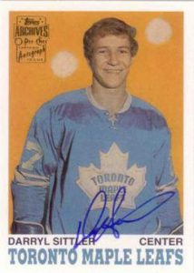 Topps O-Pee-Chee Archives Darryl Sittler Auto