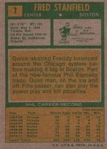 1971-72 O-Pee-Chee Topps back