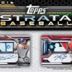 Topps Strata Baseball Sell Sheet