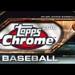 Topps Chrome Baseball Boxcover