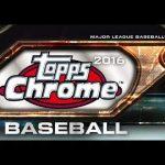 Topps Chrome Baseball Boxcover