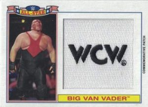 Topps WWE Heritage All Star Patch Vader