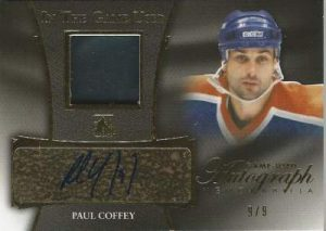 Leaf In The Game Used Hockey Paul Coffey Auto