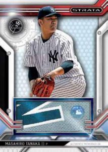 Topps Strata Baseball Clearly Authentic Relics Masahiro Tanaka