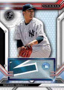 Topps Strata Baseball Clearly Authentic Relics Masahiro Tanaka
