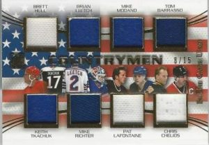 Leaf In The Game Used Hockey Countrymen USA