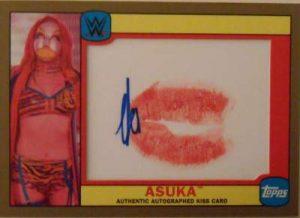 Topps WWE Heritage Diva Kiss Auto Asuka