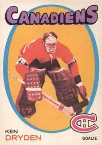 1971-72 O-Pee-Chee Dryden RC