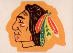 1971-72 O-Pee-Chee Crests Chicago Blackhawks