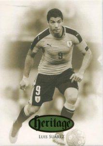 Futera Unique Heritage Luis Suarez