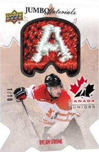 Team Canada Juniors Jumbo Materials Strome