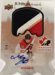 Team Canada Juniors Jumbo Materials Marner