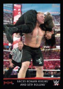 Topps WWE Heritage Lesnar Tribute