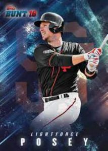 2016 Topps Bunt light force