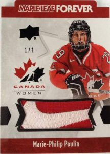 Maple Leaf Forever Women Patch Marie-Philip Poulin