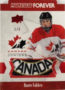 Team Canada Juniors Maple Leaf Forever Men Dante Fabbro
