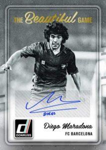 2016 Donruss Soccer Maradona Auto