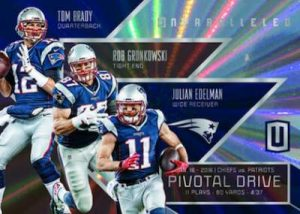 Panini Unparalleled Football Pivotal Drive Patriots