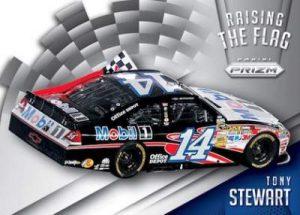 Panini Prizm NASCAR Raising the Flag