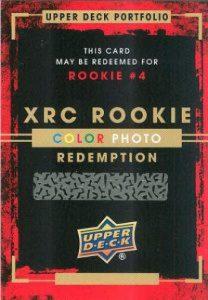 15-16 Upper Deck Portfolio Redemption