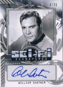 2016 Leaf Pop Century Sci-Fi Signatures William Shatner