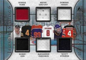 Leaf In The Game Used Hockey Legendary Starting 6
