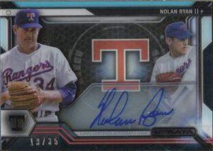 Topps Strata Baseball Strata Sigs Nolan Ryan