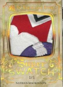Leaf In The Game Used Hockey Super Swatches MacKinnon