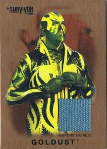 Topps WWE Heritage Survivor Series Relic Goldust