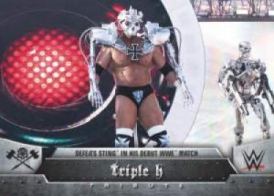 Topps WWE Heritage Triple H Tribute
