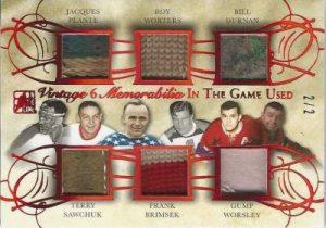 Leaf In The Game Used Hockey Vintage 6