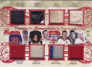 Leaf In The Game Used Hockey Vintage 8