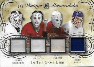 Leaf In The Game Used Hockey Vintage Quad