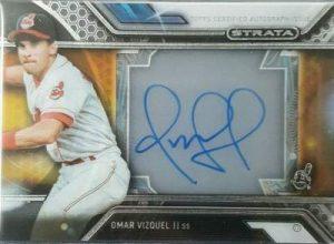 Topps Strata Baseball Strata Autographs Omar Vizquel