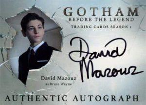 2016 Cryptozoic Gotham David Mazouz auto