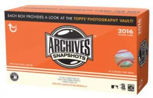 Archives Snapshots Box