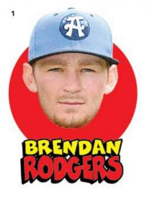 Topps Heritage minor League Stickers Set