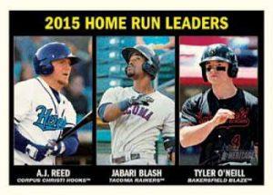 Topps Heritage Minor League Base Leaders Set