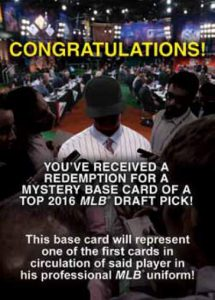 Topps Heritage Minor League Mystery Redemption
