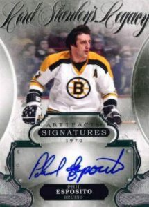 Artifacts Lord Stanley's Legacy Signatures Esposito