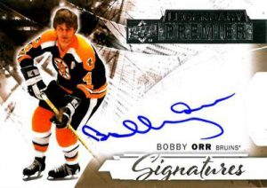 Upper Deck Premier Legendary Signatures Orr