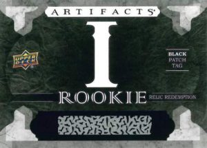 Artifacts Rookie Relics Redemption