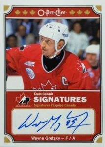 OPC Canada Sigs Gretzky