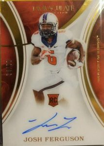 Immaculate Collegiate Football Rookie Auto
