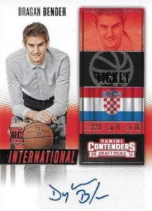 Draft Picks International Tickets Autos Dragan Bender