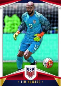 USA Soccer Base Tim Howard