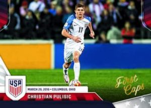 USA Soccer First Caps Christian Pulisic