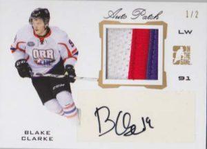 Draft Prospects Auto Patch Blake Clarke