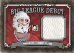 BTP Big League Debut Patrick Roy