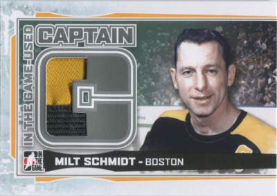 Game Used Captain C Limited Shmidt